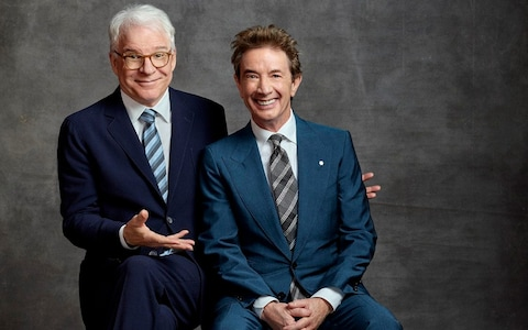 Steve Martin & Martin Short at Bank of NH Pavilion