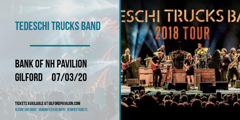 Tedeschi Trucks Band at Bank of NH Pavilion
