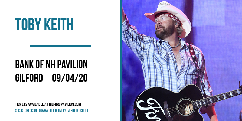 Toby Keith at Bank of NH Pavilion
