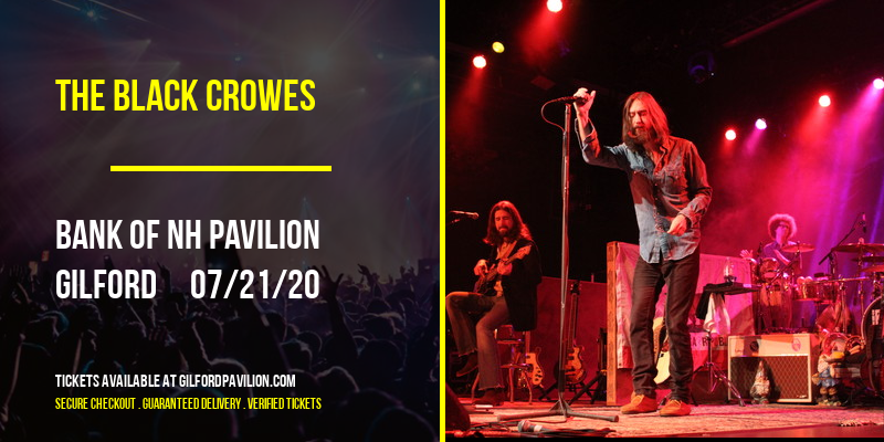 The Black Crowes at Bank of NH Pavilion