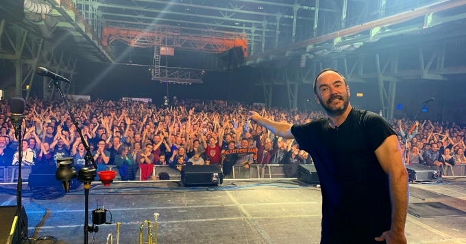 Dave Matthews Band at Bank of NH Pavilion