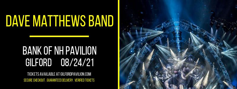 Dave Matthews Band at Bank of NH Pavilion