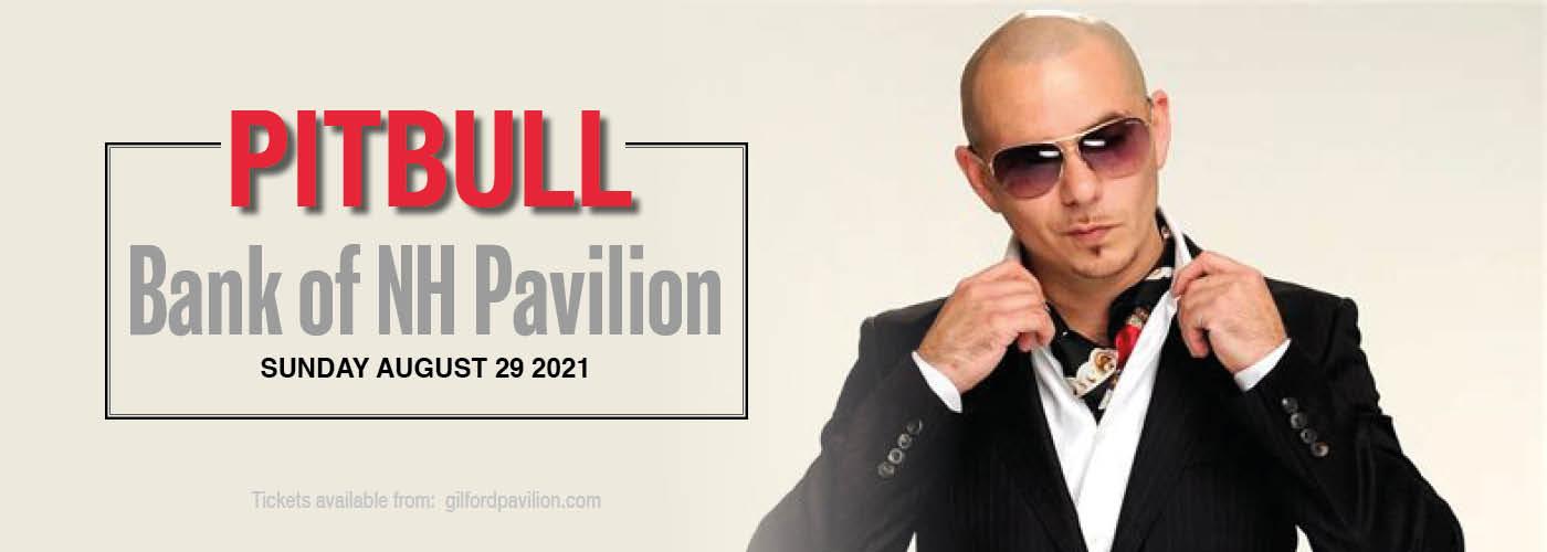 Pitbull at Bank of NH Pavilion