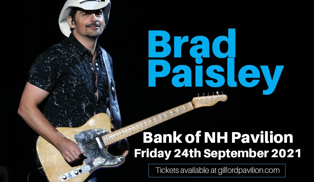 Brad Paisley at Bank of NH Pavilion