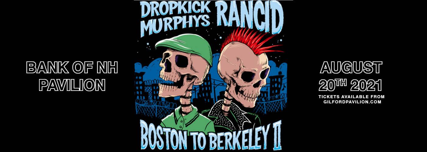 Dropkick Murphys: Boston to Berkeley II Tour at Bank of NH Pavilion