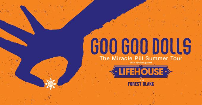 Goo Goo Dolls & Lifehouse at Bank of NH Pavilion