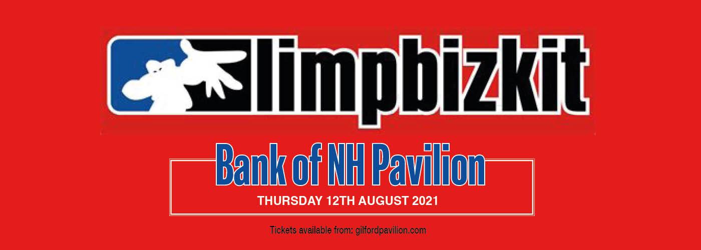 Limp Bizkit at Bank of NH Pavilion