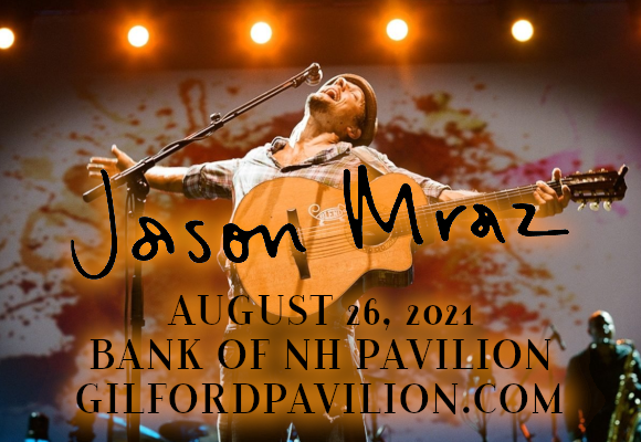 Jason Mraz at Bank of NH Pavilion